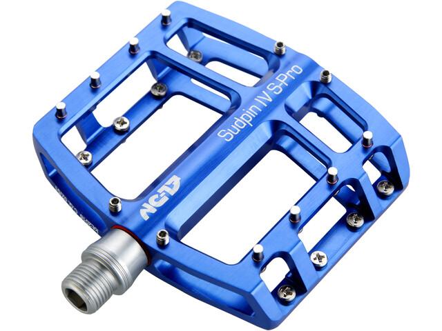 NC-17 Sudpin IV S-Pro Pedalen, blue